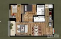 CC 098.111.5218 bán chung cư Eco Green City căn 9. CT4, dt 67m2/2PN/2WC ban công ĐN, giá 25.7tr/m2
