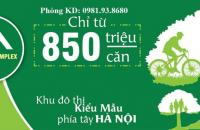 CHỈ 900 TRIỆU/CĂN 2PN, FULL NỘI THẤT, GIÁ RẺ NHẤT QUẬN HÀ ĐÔNG,CK3%,LS0%_0981938680