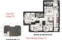 Bán nhà chung cư 3 PN, C7 Giảng Võ, Ba Đình, DT 78,2m2, căn góc 3 mặt thoáng, giá 3,7 tỷ