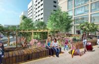 Bán căn hộ 2 PN ngay Dolphin Plaza – sân vườn trên cao– Vị trí không thể đẹp hơn –LH: 0981938680