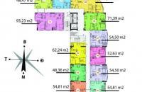 Chính chủ cần bán căn hộ CT1B Nghĩa Đô, căn 1509, DT 94.19m2, bán giá 27tr/m2. LH 0936338736