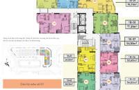 Chính chủ cần bán căn hộ CT1B Nghĩa Đô.Căn 1509, DT: 94.19 ,bán giá 27tr/m2.LH :0936338736