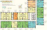 BÁN GẤP ! CC cần bán căn T1816-CT4 chung cư Eco Green City, DT: 75.16m2, giá:24 tr/m2,LH:0985354882 (MTG)