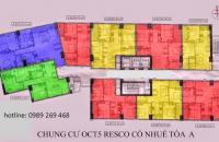 Cần bán gấp căn hộ 3 phòng ngủ, chung cư OCT5B Thành ủy (01689994940)
