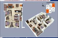 Bán căn 604B1 dự án B1B2 Linh Đàm, giá nào cũng bán