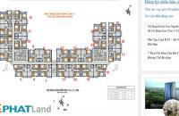 Bán căn hộ chung cư Golden An Khánh tầng 1218 tòa 18T1 DT 69,6m2, giá bán 12tr/m2. LH 0986854978