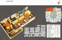Căn hộ 3 PN 92,6m2, CT Number 1 Vân Canh, miễn mời QC