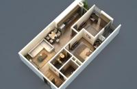 Bán căn 75.5m2 hướng ĐN tòa CT3 đẹp nhất HP Landmark giá 20tr. LH: 01656124106