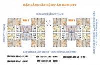 Chính chủ cần bán gấp căn hộ Mon City, căn 11.11, tòa B, DT 61,5m2, 2PN, giá: 29tr/m2:0981129026