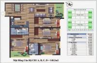 Bán gấp căn CH1- D tòa CT4 Vimeco diện tích 148.2m2, 4PN, 2 WC, giá 30 tr/m2, LH: 0989218798