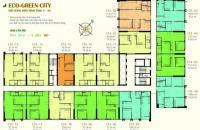 Bán gấp CC Eco Green City 12, CT4, DT 66.62m2, 2PN, 2WC, giá gốc 26 tr/m2. LH: 098.111.5218