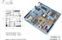 CC cần bán chung cư Eco Green City, căn 06. CT4, diện tích 93.82m2, 3PN, 2WC, giá 26.8tr/m2