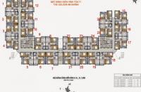 Chính bán chung cư The Golden An Khánh 18T2 căn góc 901, DT 69,6m2 giá 12tr/m2. 0964046238