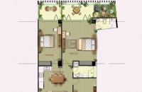 Bán CH 120m2, 3 phòng ngủ, 2 WC, 4,7 tỷ, Núi Trúc, Ba Đình