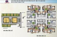 Gấp! Cần bán gấp CC Lilama 52 Lĩnh Nam, tầng 1602, DT: 92m2, 3PN, 2VS, giá 16tr/m2, 0963744830