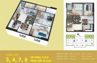 Sở hữu căn hộ tiện nghi 74m2, tại Tabudec Plaza