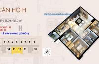 Bán căn hộ chung cư Bắc Hà Tower, 3 phòng ngủ, 95m2. Ban công ĐN