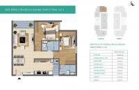 Bán căn hộ chung cư Xuân Phương Tasco, căn tầng 1102, DT: 86.5m2, giá bán: 19tr/m2, LH: 0989540020