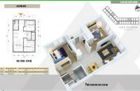 Bán căn hộ 47m2, 2PN Xuân Mai Complex, Hà Đông, hỗ trợ vay LS 0%, tặng Phone 7. LH 0904.529.268