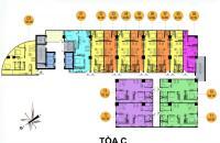 Bán chung cư Hồ Gươm Plaza 1,5 tỷ căn 2PN 65m2 - 0961586899