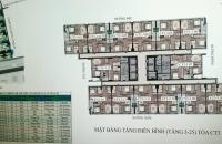 Bán suất ngoại giao chung cư cán bộ chiến sỹ Bộ Công An, Cổ Nhuế 2. Giá 14,5 triệu/m2, 0961586899