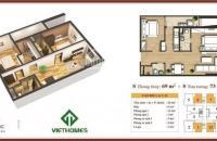 Em bán 1812 chung cư 283 Khương Trung, 69m2 giá 25tr/m2. Lh 0981.017.215