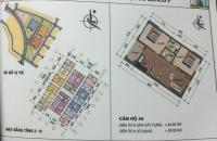 Cần bán nhanh căn hộ 24, 26 tòa HH02-1A Thanh Hà Cienco 5, nhìn hồ