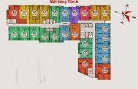 Bán căn hộ chung cư Gemek Tower, căn tầng 1007, DT: 68.2m2, giá bán: 15tr/m2. LH: 0989540020