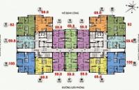 Bán gấp rút chung cư CT36 Dream Home, DT: 59.8m2, 1207,Toà B giá 22.5 tr/m2, LH chính chủ: 0934568193