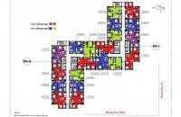 Bán căn hộ chung cư Hà Nội Center Ponit, Lê Văn Lương căn tầng 1810 DNI, DT 80.97m2, giá 33tr/m2