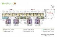 Chính chủ bán Ecolife Capital, căn 1609 DT 75.9m2, giá bán 21 tr/m2 bàn giao thô, LH 0934568193