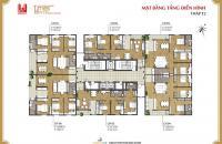 CC bán căn đẹp nhất tòa căn góc 04, 127 m2, 3PN, 2WC, giá 30.5 tr/m2 chung cư Times Tower