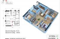 Bán lỗ căn góc (tầng 18- 3PN), CT3 Eco Green (S: 95.10m2), giá 24tr/m2. Nga 0165 786 3243
