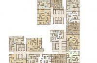 Bán căn hộ 127m2 nhà thô tòa C1 CCCC Mandarin, giá 45tr/m2