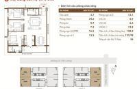 Chung cư Time Tower, tòa T2, 128.3m2 căn CH6 cần bán gấp (gặp chú Kim) 31,5tr/m2