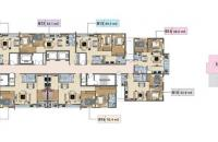 Chị Hà bán lại căn hộ chung cư Báo Nhân Dân tầng 1205 DT 86.9m2, giá siêu rẻ 19tr/m2: LH 0981129026