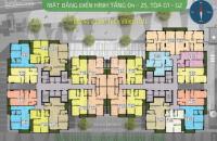 Chính chủ cần bán CC Five Star Kim Giang, căn 1507, DT: 68,92m2, giá 21 tr/m2. LH:0981129026