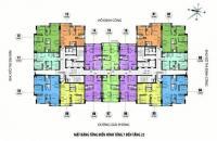 Cô Thái - Bán gấp CC CT36 Định Công, tầng 1507, DT 59.8m2, giá 22tr/m2, 0981129026 Bao thủ tục