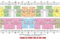 Cần bán gấp căn hộ chung cư CT1C Thông Tấn Xã, tầng 1515. DT 84.18m2: 3PN, giá bán 20 tr/m2