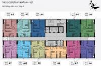 Bán gấp chung cư The Golden An Khánh 32T, căn 16A5 DT 65.9m2 giá 1 tỷ LH: 0934568193