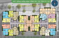 Chính chủ cần bán CC Five Star Kim Giang, căn 1501, DT: 73,89m2, giá 21 tr/m2. LH: 0986854978