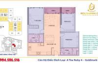Chính chủ cần bán căn hộ 110,62m2 tại Goldmark City, 3PN, 2VS, chấp nhận bán lỗ. LH 0904.586.516