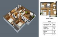 Bán căn hộ 66.2 m2 chung cư CT36 Định Công mới nhận nhà. Giá gốc 1.7 tỷ