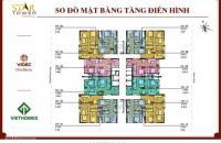 Chính chủ gửi bán căn 76,76m2 (1804) CC Five Star Kim Giang, giá 25tr/m2. LH 0981017215