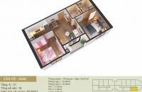 Bán căn hộ 2 phòng ngủ chung cư Tây Hồ River View giá chỉ từ 1.7 tỷ, view trọn sông Hồng