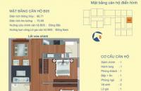 Nhượng gấp căn 2PN full nội thất, ở ngay chung cư 122 Vĩnh Tuy