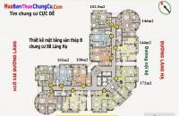 Chính chủ bán chung cư Sky City Towers - 88 Láng Hạ, 107m2, 2PN, full đồ