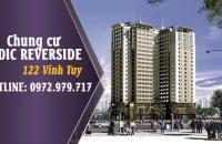 Bán căn góc 2 phòng ngủ chung cư phường Vĩnh Tuy, full nội thất, đã nhận bàn giao