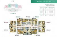Gấp.Cần bán CC Xuân Phương Residence, căn 1509, DT 65.9m2, giá 22tr/m2. LH :0972347912