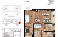 Chính chủ bán gấp căn 16.05 Imperia Garden 135m2, 4PN, 2WC giá 33 tr/m2, căn góc